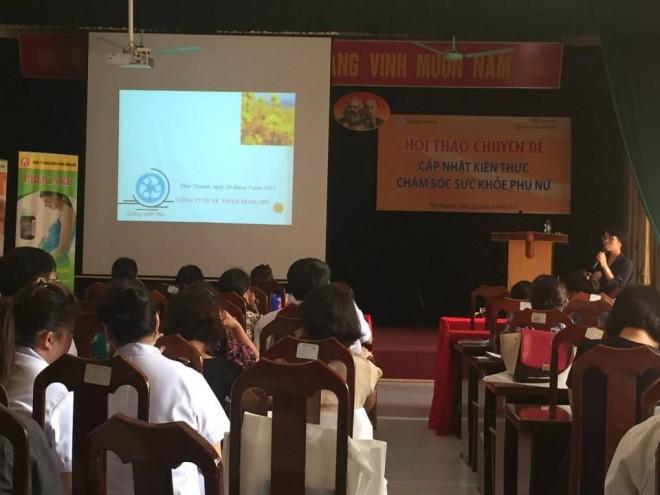 Hội thảo chuyên đề cập nhật kiến thức chăm sóc sức khỏe phụ nữ 1