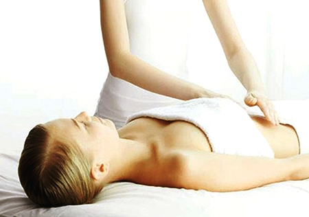 Massage bụng 1