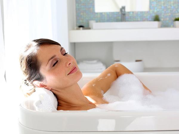 Tắm nước ấm 1