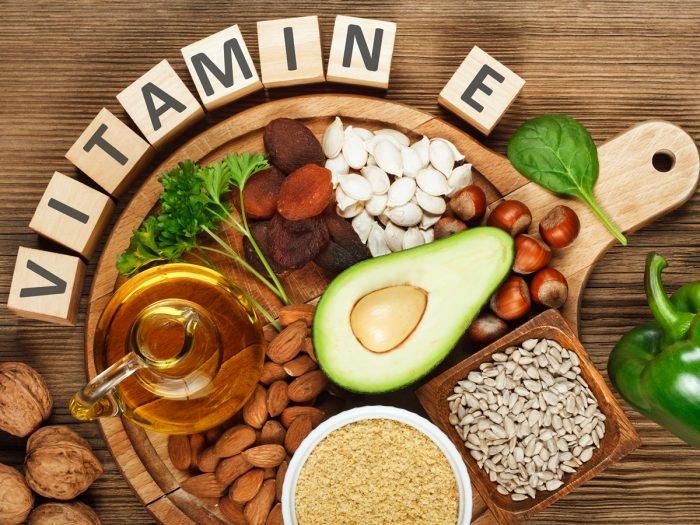 7. Bổ sung vitamin E 1