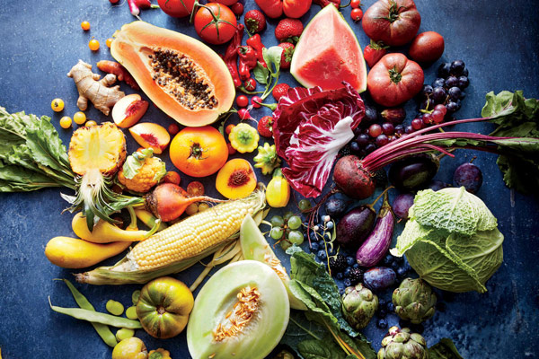 Rau củ, các loại trái cây 1