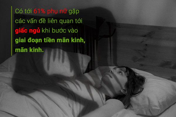 Rối loạn giấc ngủ tuổi tiền mãn kinh - Cần một phương pháp hiệu quả! 1