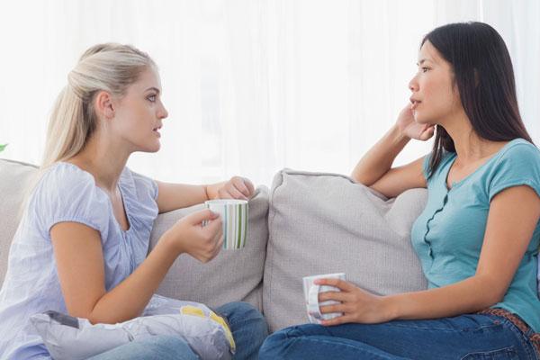 Trò chuyện với người mà bạn tin tưởng 1