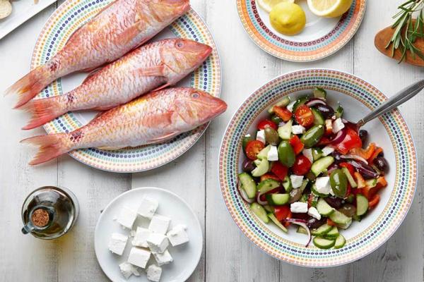 Chế độ ăn Địa Trung Hải 1