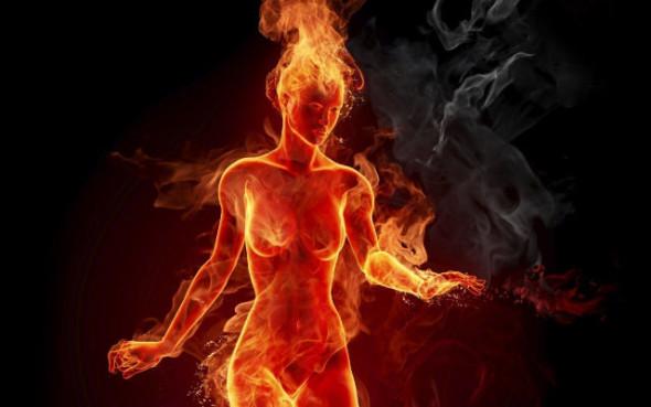 Các cơn bốc hỏa là do rối loạn chức năng điều nhiệt, suy giảm estrogen( Ảnh minh hoạ)