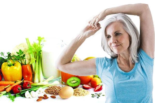 Chế độ ăn uống và tập luyện thể dục khoa học sẽ giúp cải thiện tình trạng nóng giận thời kỳ mãn kinh( Ảnh minh họa)