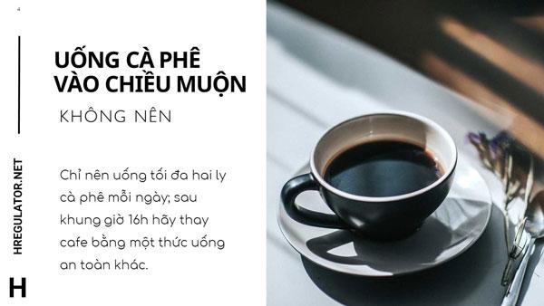 Uống cà phê vào chiều muộn 1